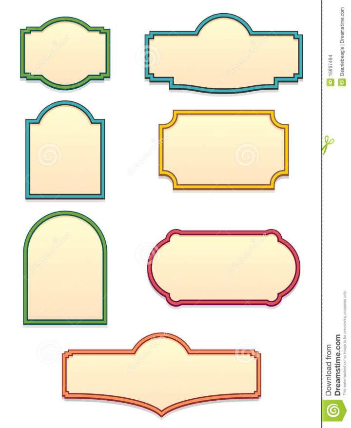 Antique Sign Templates Antique Sign Templates Eps