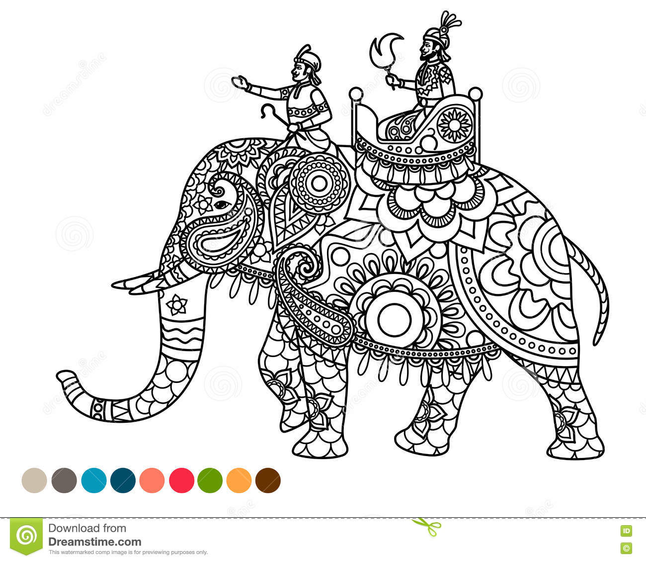 Clipart Indian