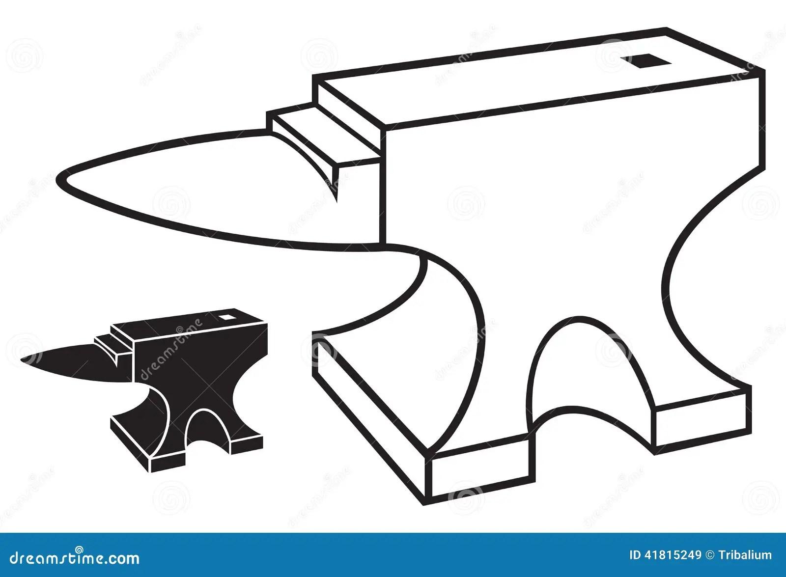 Anvil Stock Vector Illustration Of Manual Equipment
