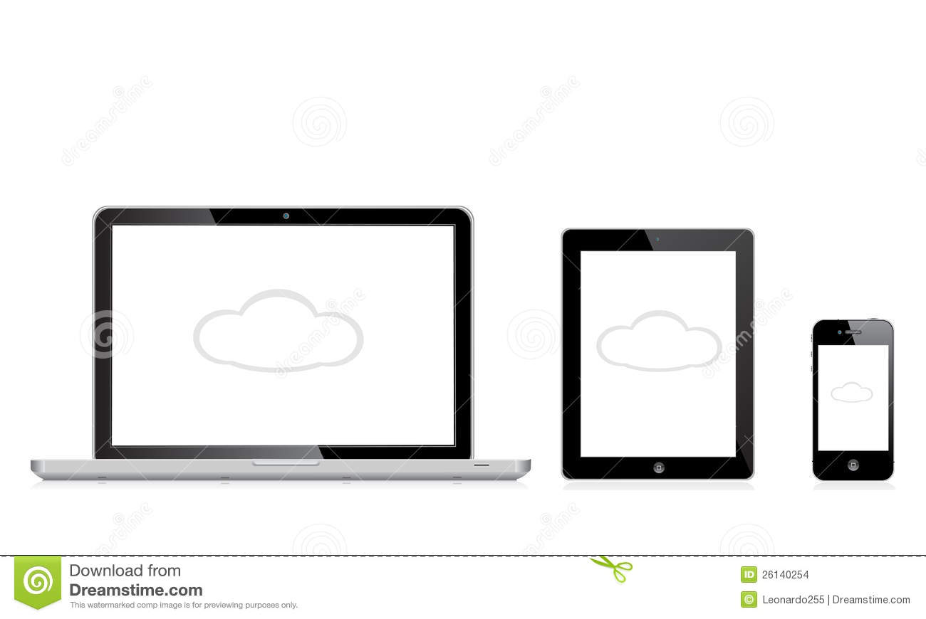 Apple Mac Ipad Iphone Editorial Stock Image