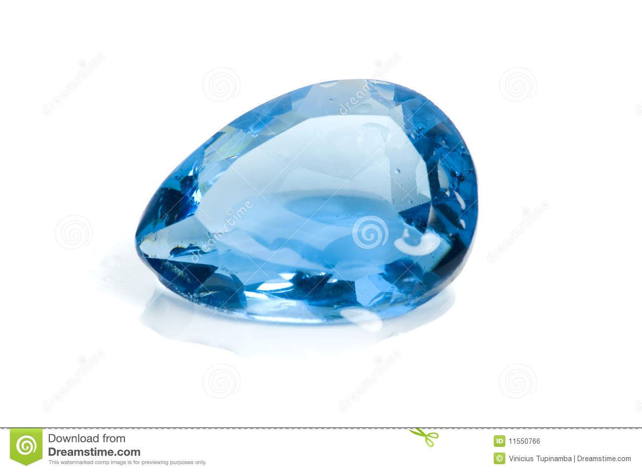 Aquamarine Gem Stock Photo Image Of Cyan Gems Plastic