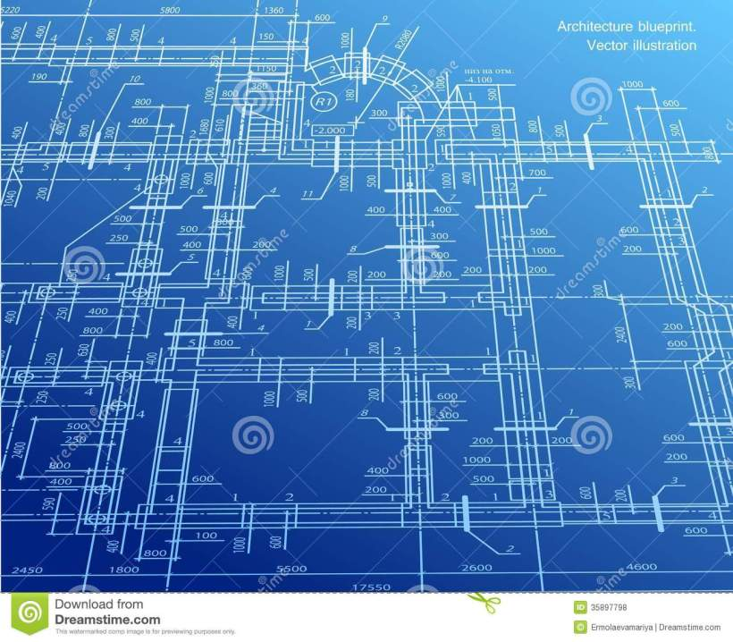 Blueprint image free bedwalls architecture blueprint background vector royalty free stock malvernweather Choice Image