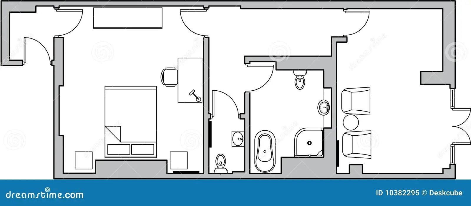 Floor Plan Symbols Stock Illustrations 570 Floor Plan Symbols Stock Illustrations Vectors Clipart Dreamstime