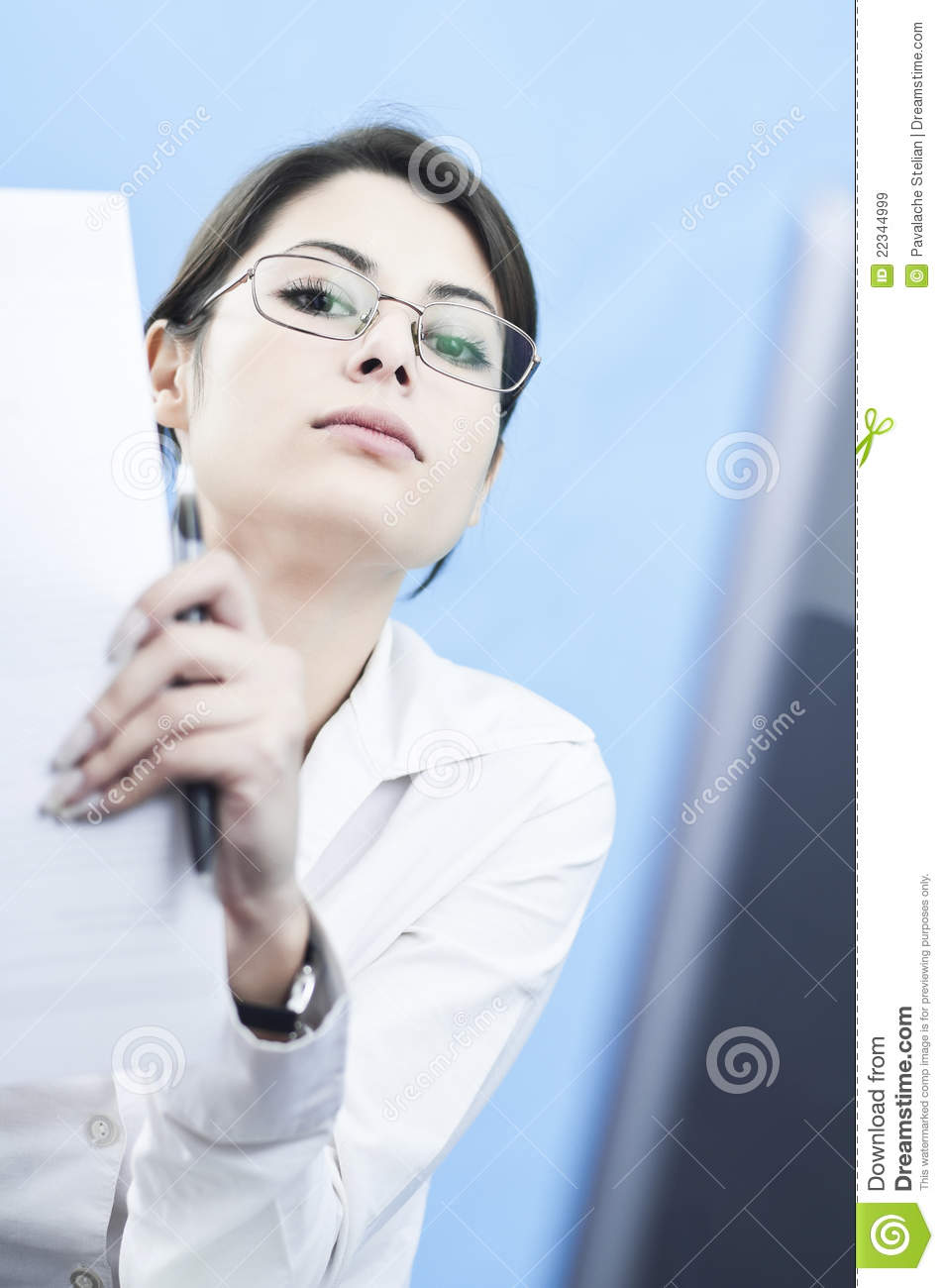 Arrogant Business Woman Royalty Free Stock Images Image