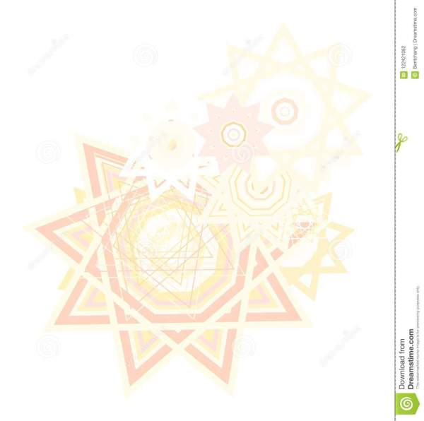 Artistic Star Background Pattern Abstract. Canvas ...