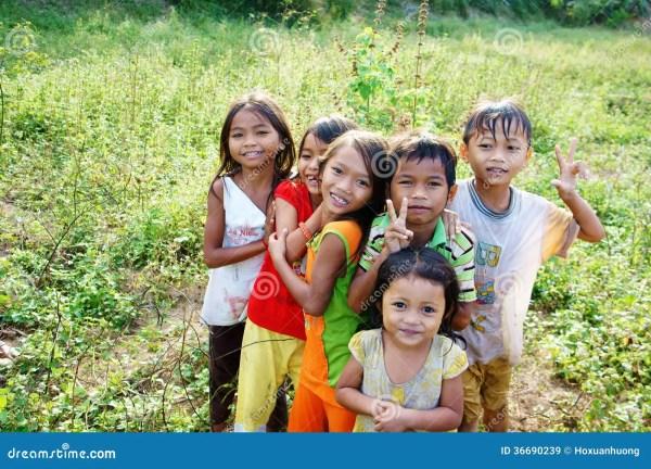 Asia Lovely Children (kids) Editorial Stock Image - Image ...