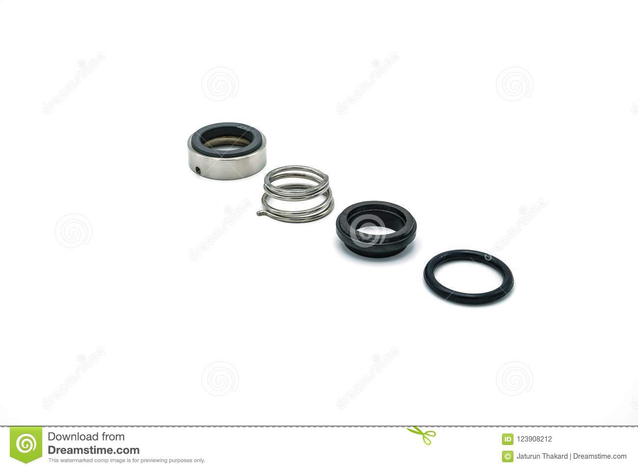 Steel Rings For The Training Of Athletes Royalty Free