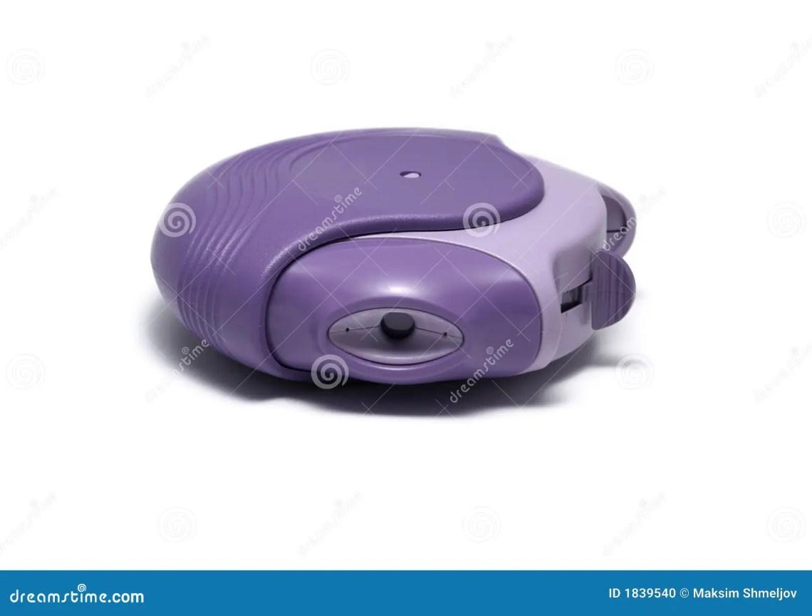 Asthma Inhaler Isolated On White Stock Photo - Image: 1839540