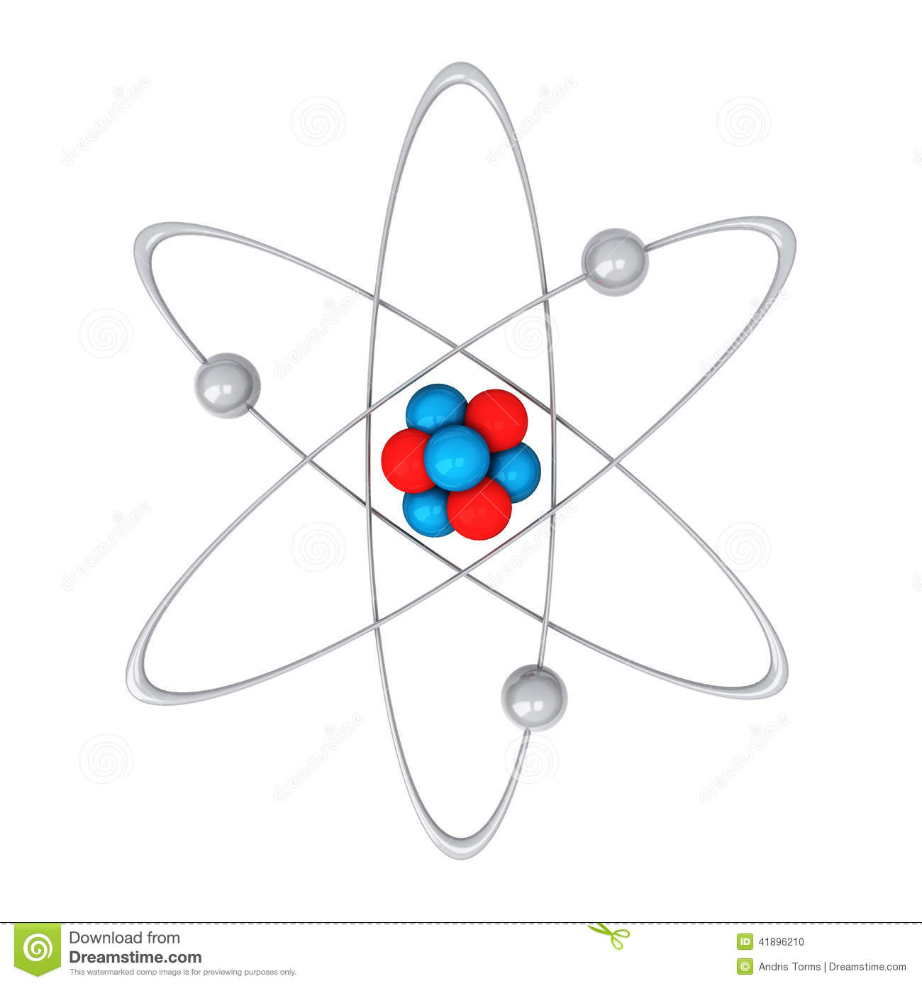 Atom 3d Stock Illustration Illustration Of Chemistry