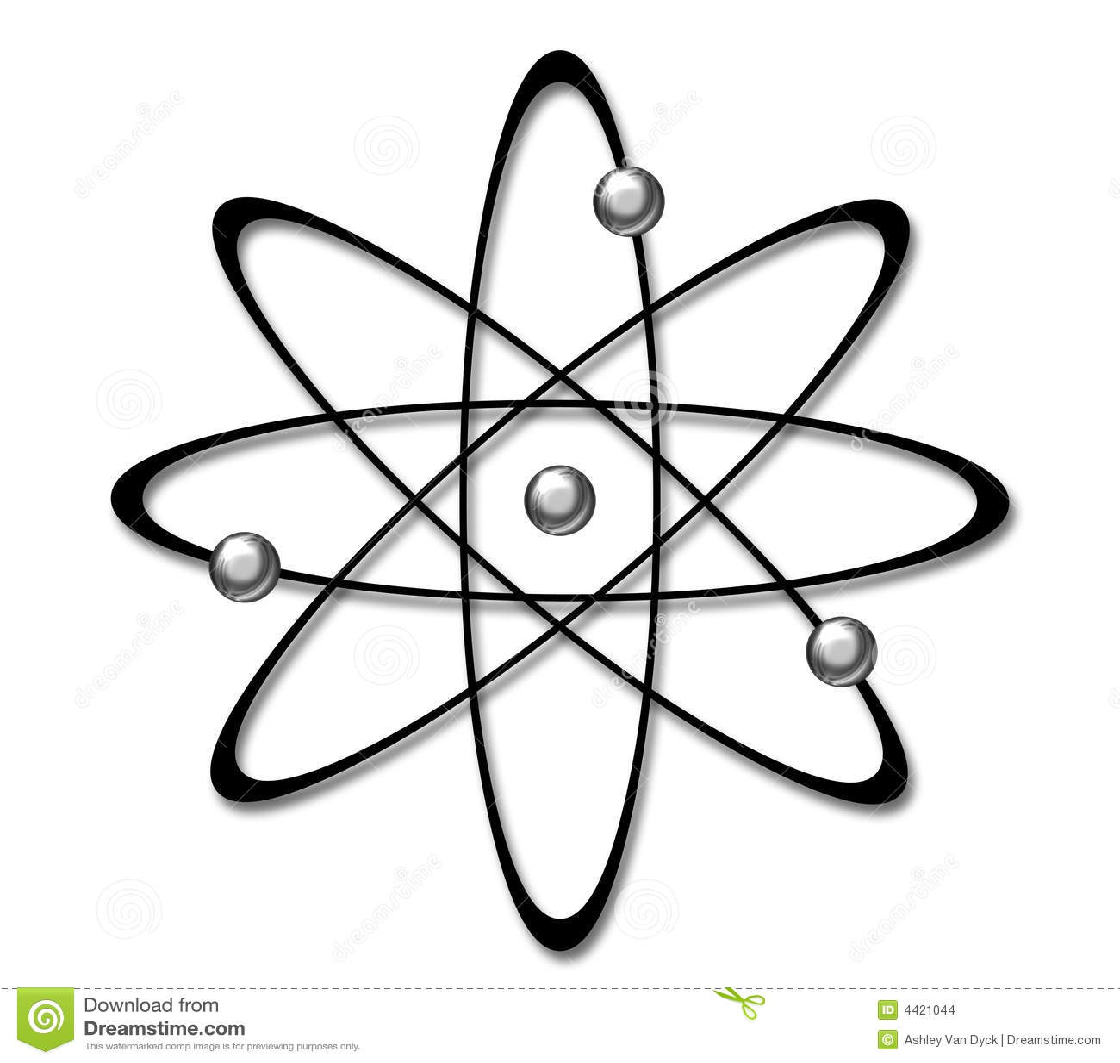Atom Symbol Stock Illustration Image Of Science