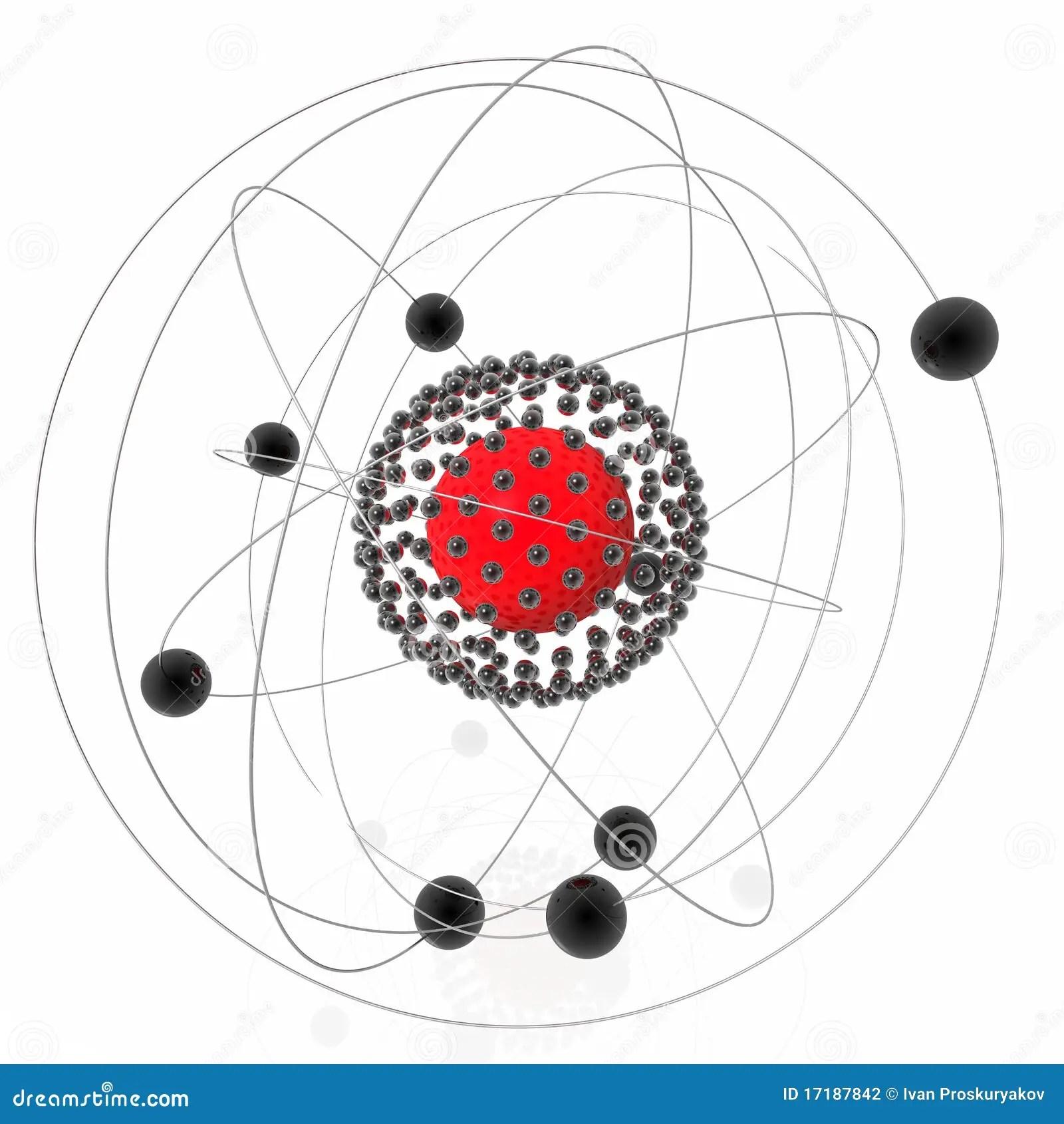 Atomic Nucleus Stock Photography