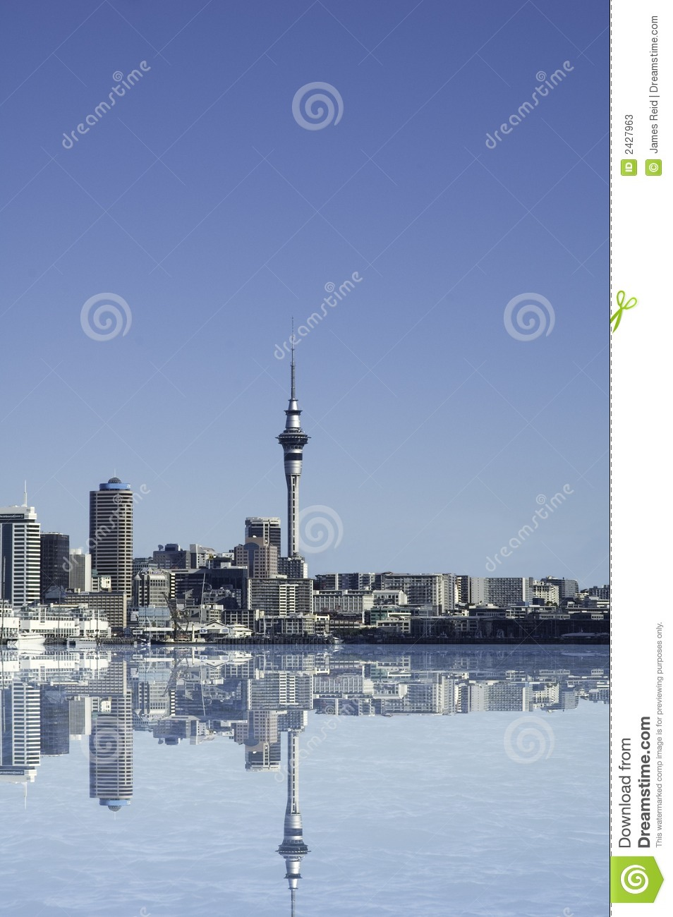 Auckland City Stock Illustration Illustration Of Water