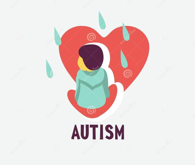 Autism The Emblem Of The Syndrome Of Autism In Children Childr