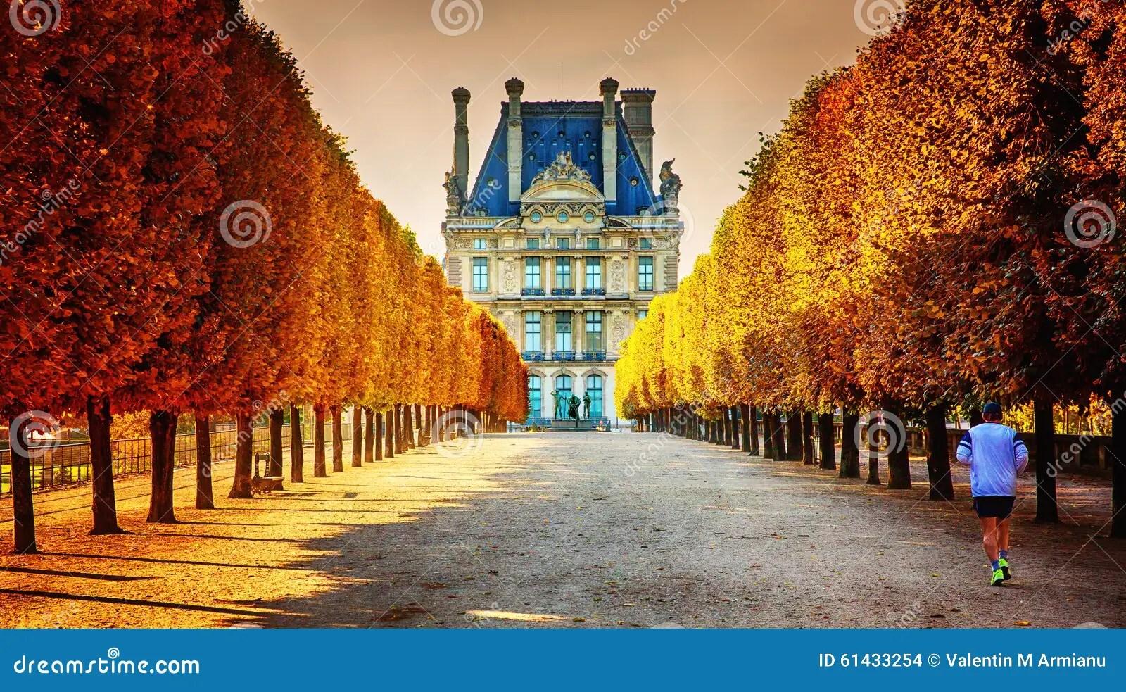 Autumn In Paris Editorial Stock Image Image 61433254