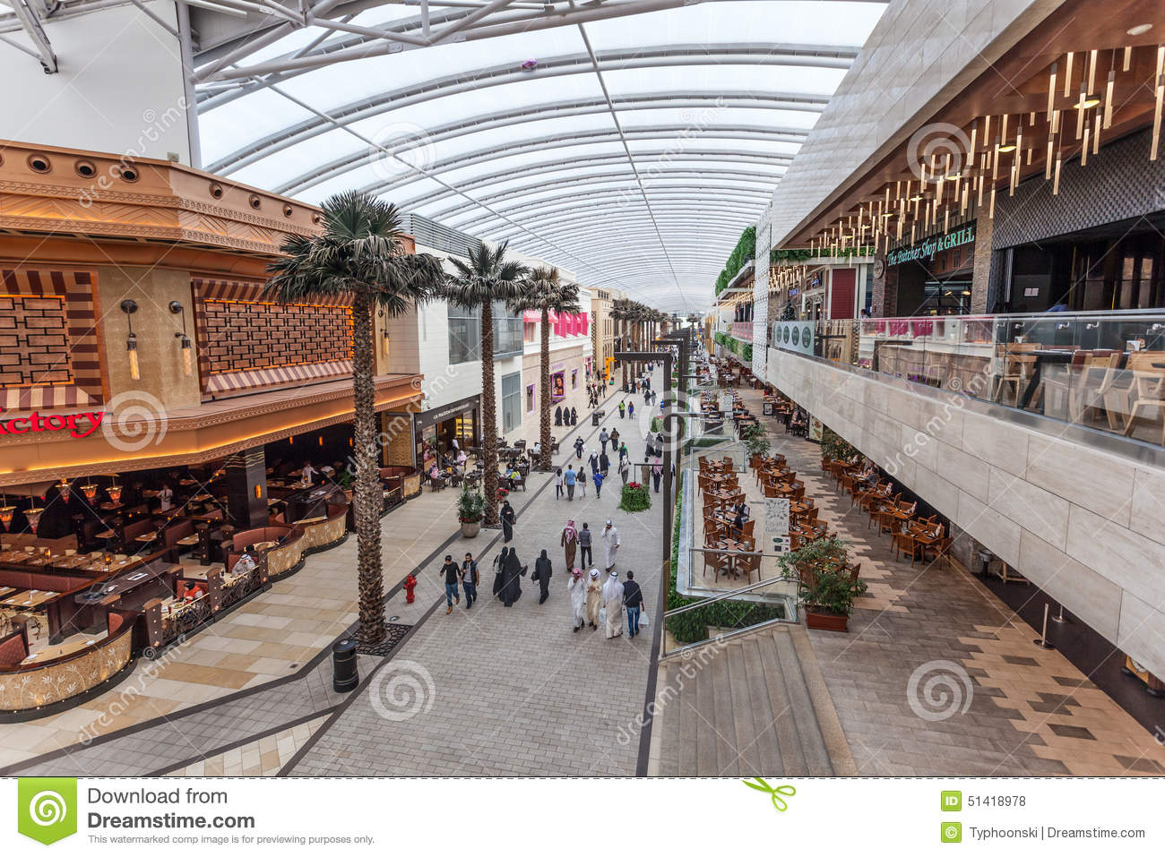 The Avenues Mall In Kuwait City Editorial Stock Photo