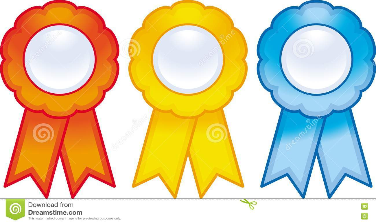 Award Ribbons Vector Stock Images
