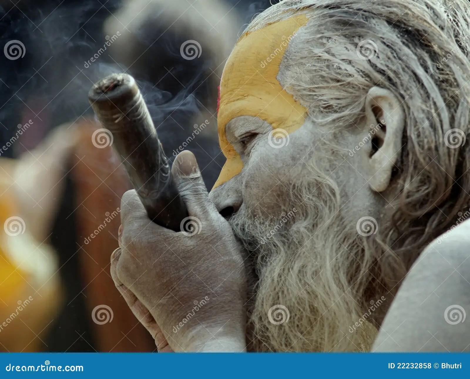 Baba In Shivaratri Festival In Nepal Editorial Stock Photo