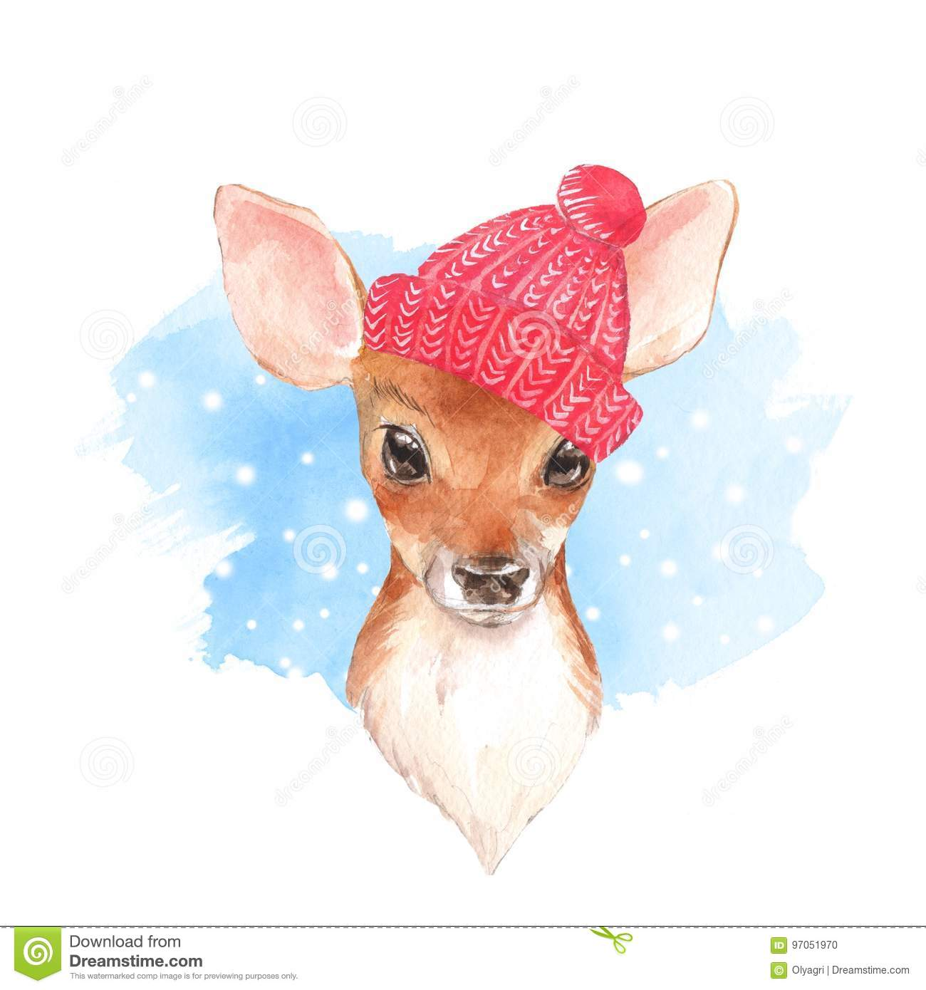 Fawn Cartoons Illustrations Amp Vector Stock Images 2215