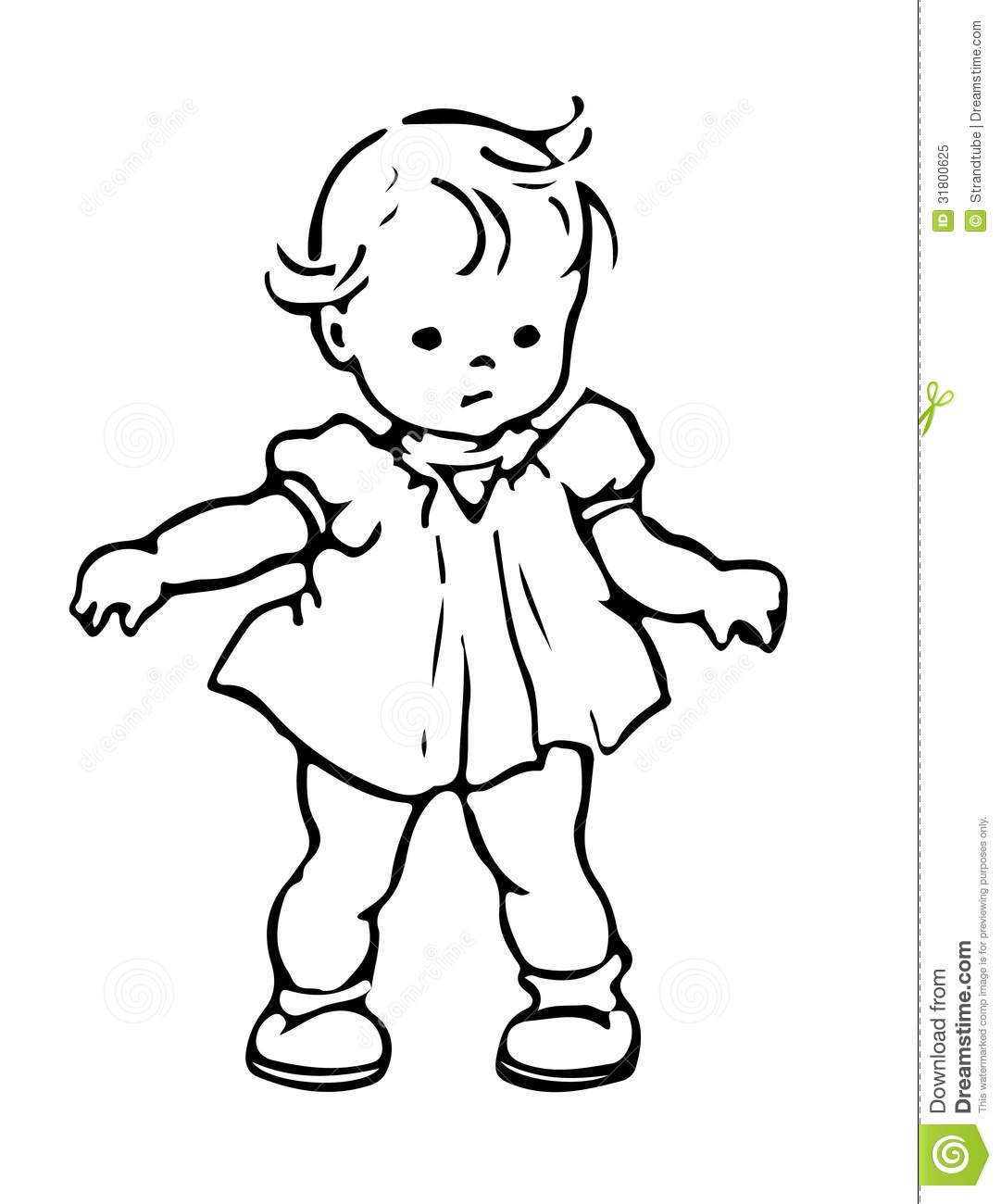 Baby Stock Illustration Illustration Of Sitting Person
