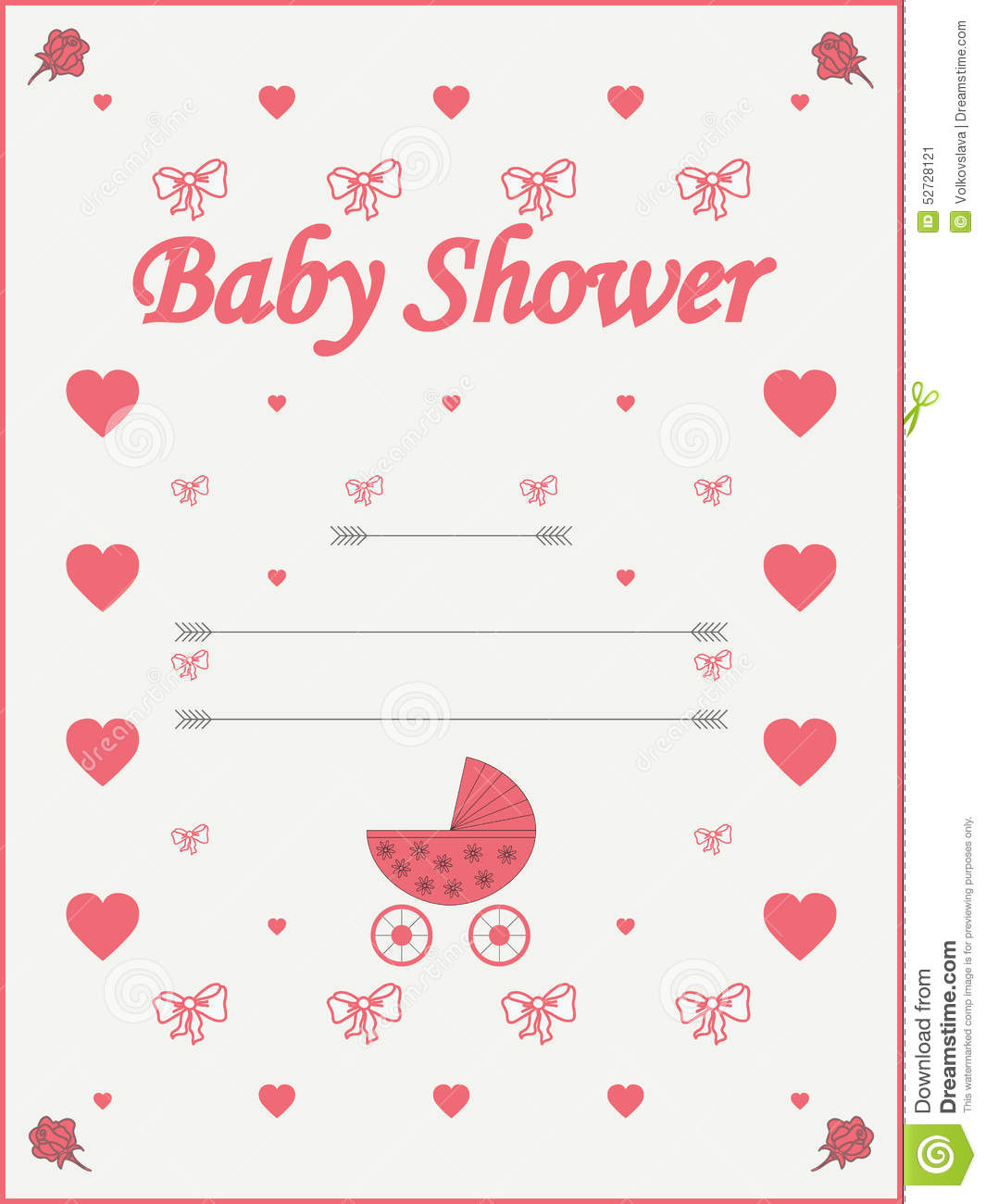 Baby Shower Invitations Backgrounds