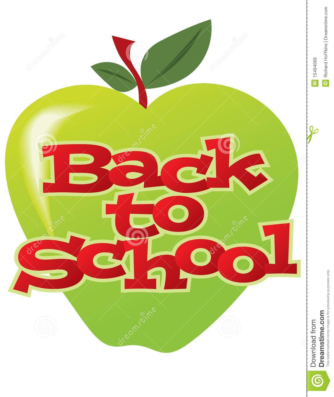 Royalty Free Stock Images Back To School Apple Image