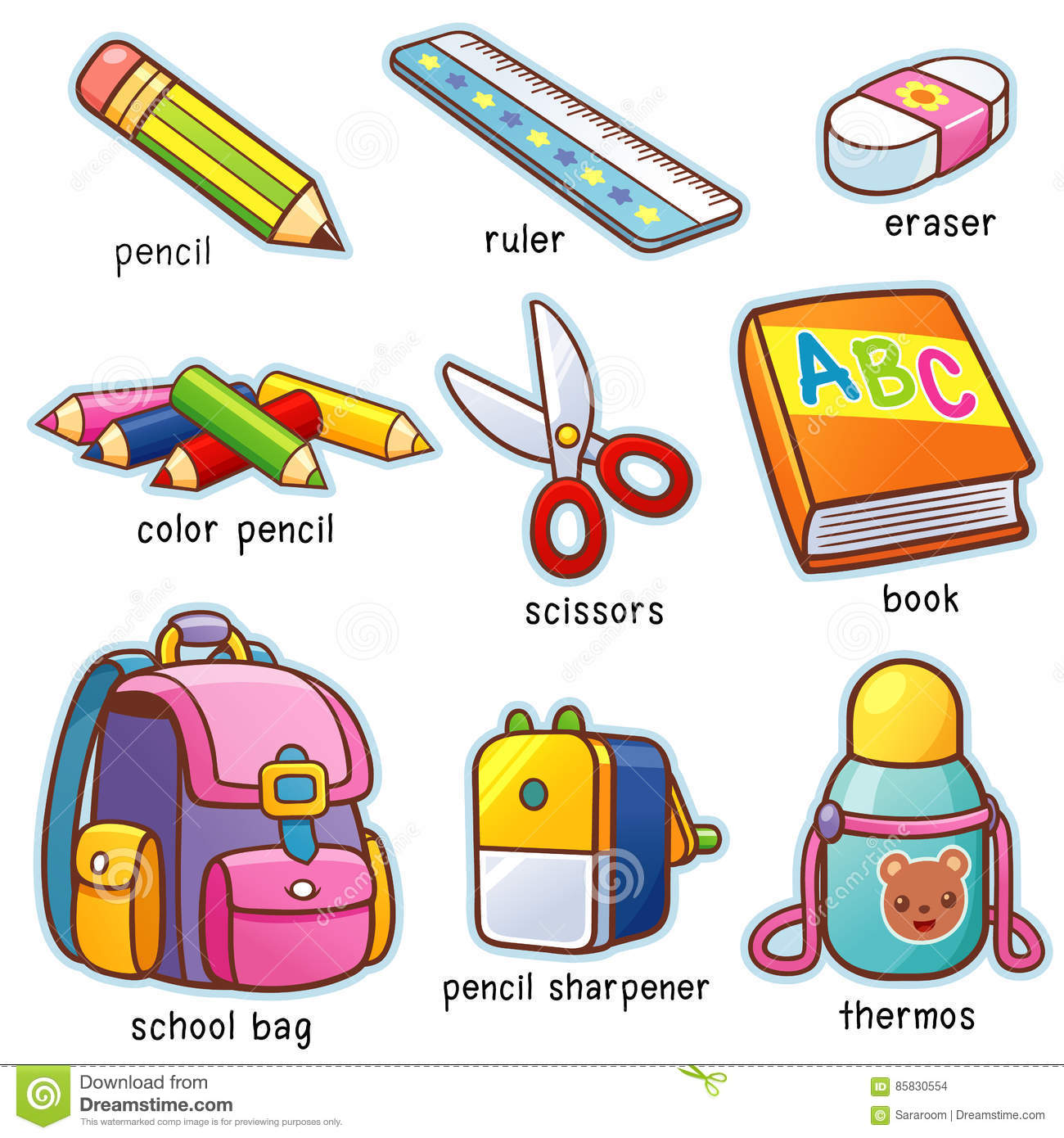 Back To School Stock Vector Illustration Of Pencils