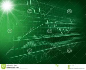 Background With Forex Chart Stock Illustration  Illustration of merce, money: 10151998