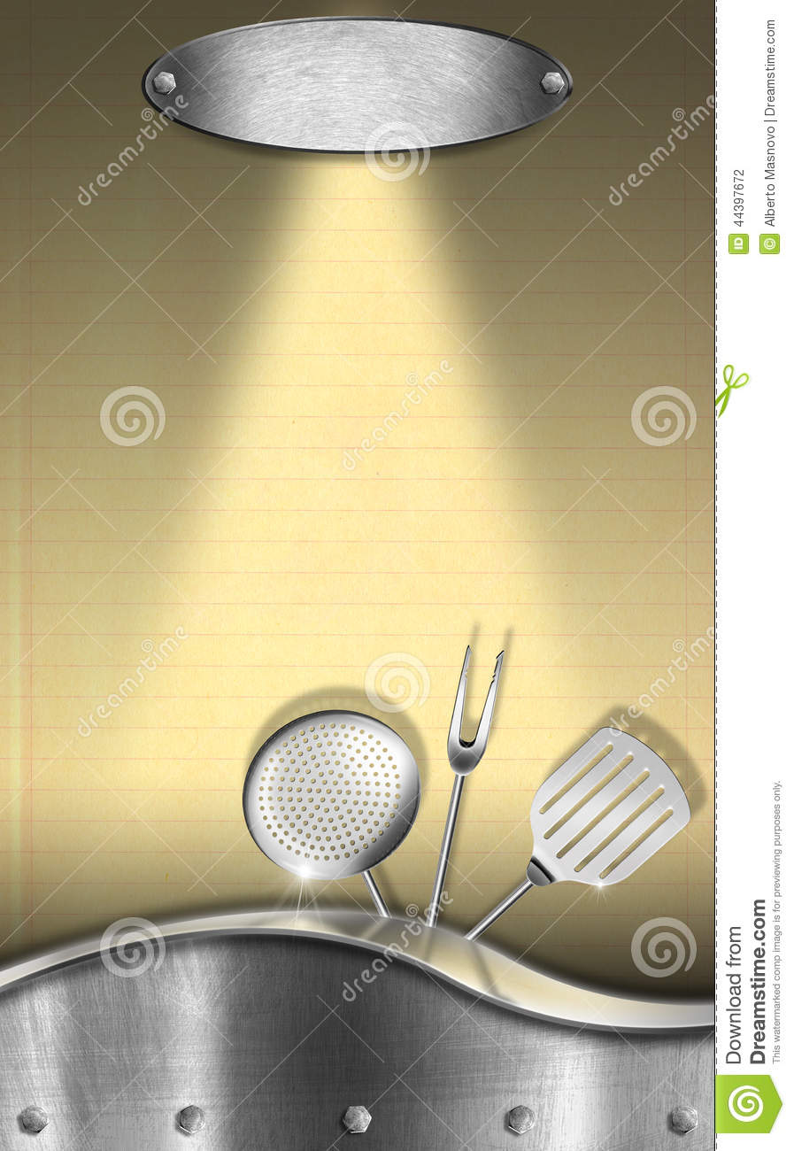 Background For Recipes Or Food Menu Stock Illustration