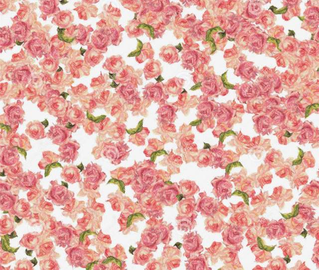 Background Roses Allover