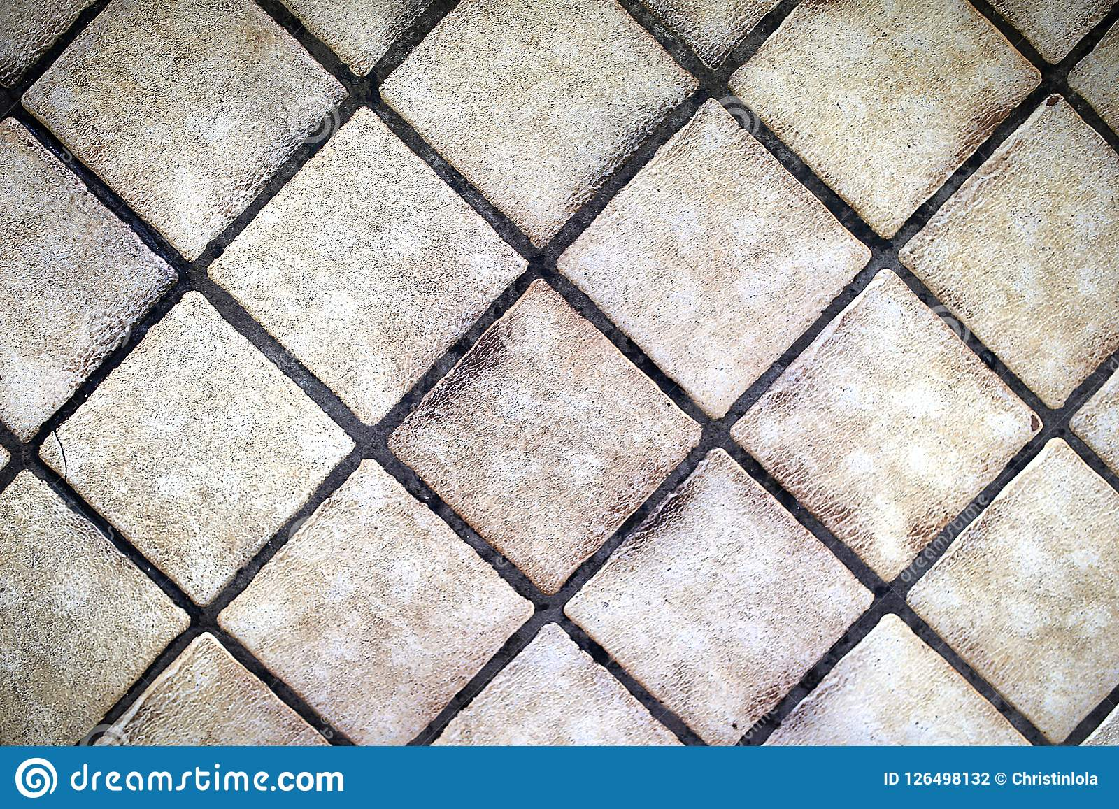 https www dreamstime com background small square tan floor tiles diagonal pattern background small tan square floor tiles diagonal image126498132