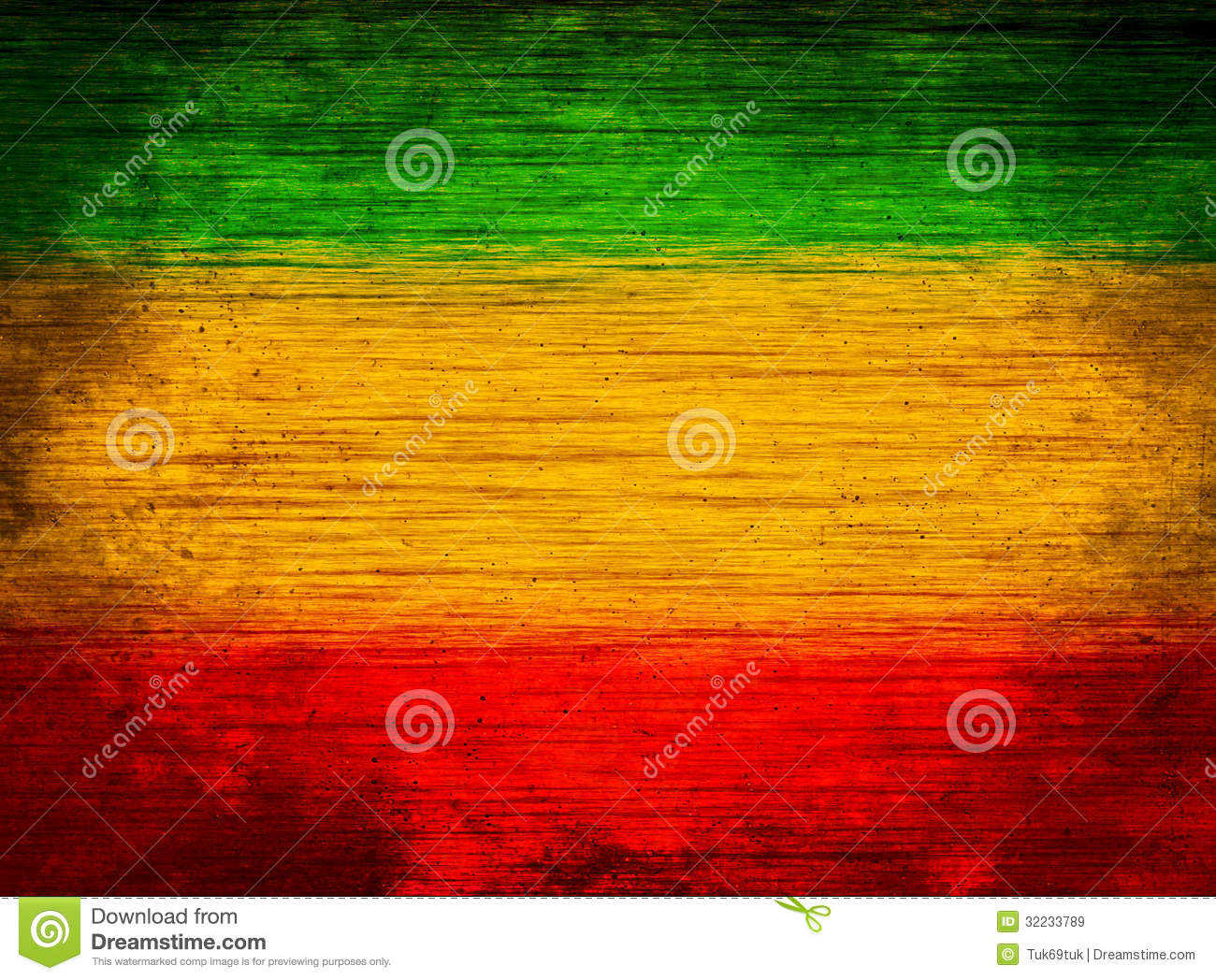Background Wood Green Yellow Red Stock Image