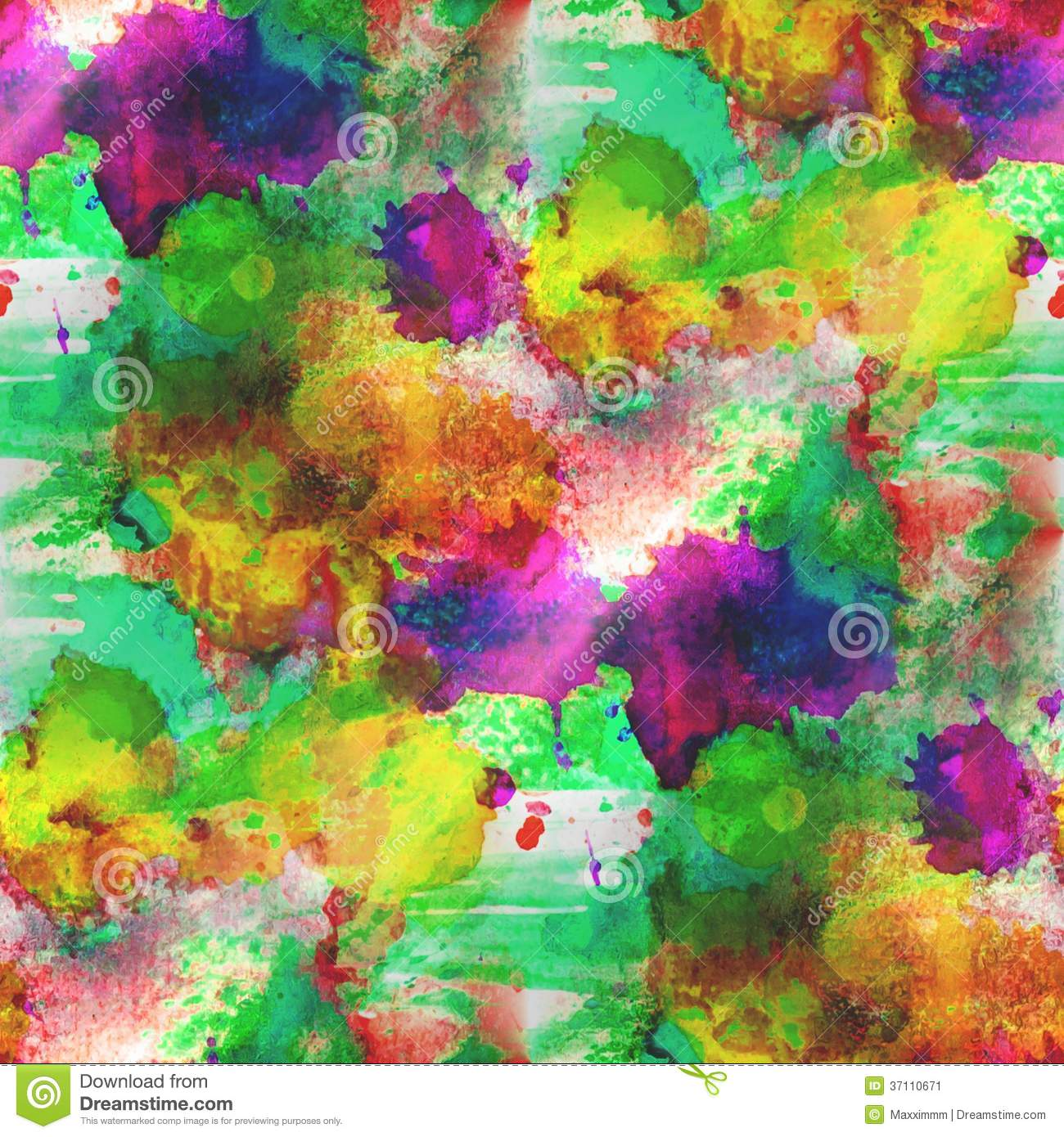 Background Yellow Green Purple Texture Stock Image