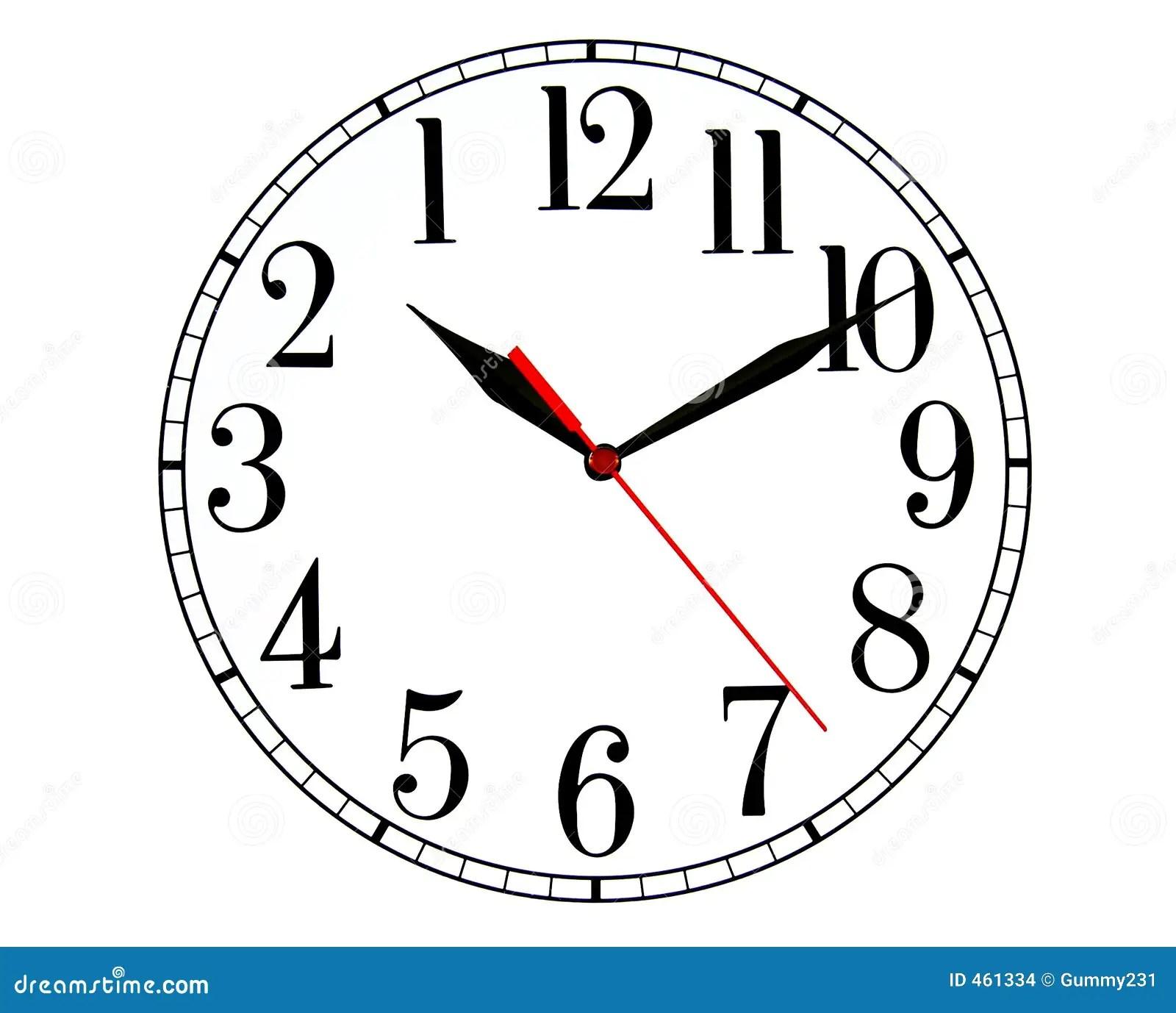 Backwards Clock Stock Illustration Image Of Time History