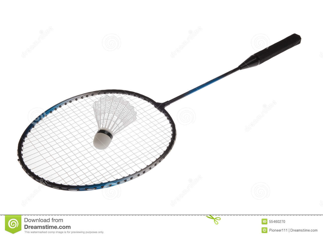 Badminton Racket Stock Photo Image Of Active Racket
