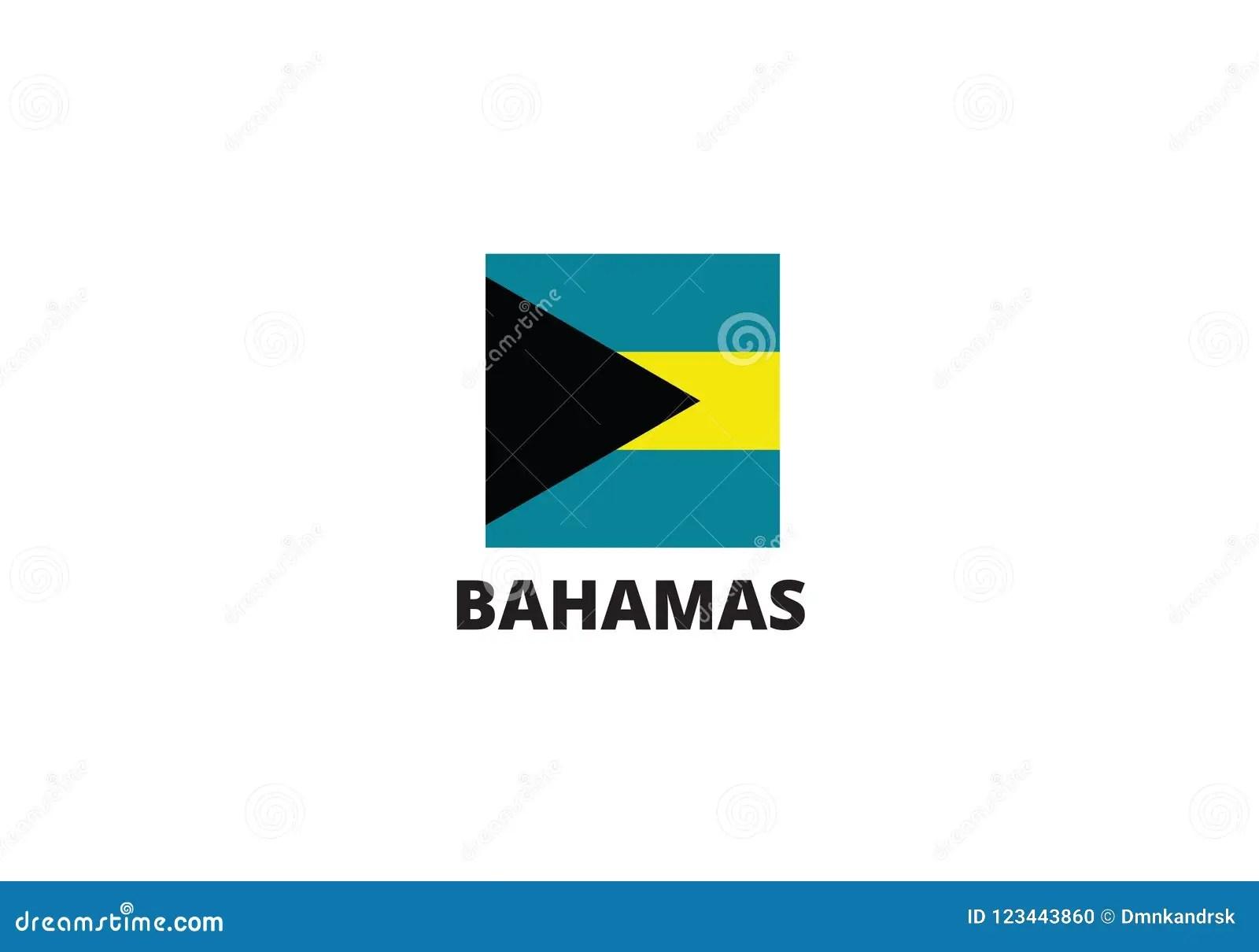 Bahamas National Flag Symbol Coat Of Arms Stock