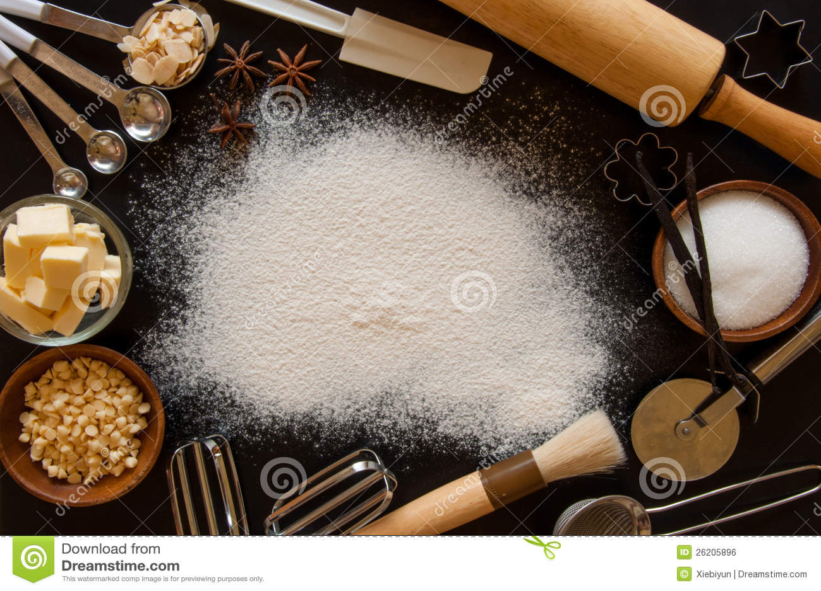 Baking Frame Royalty Free Stock Image Image 26205896