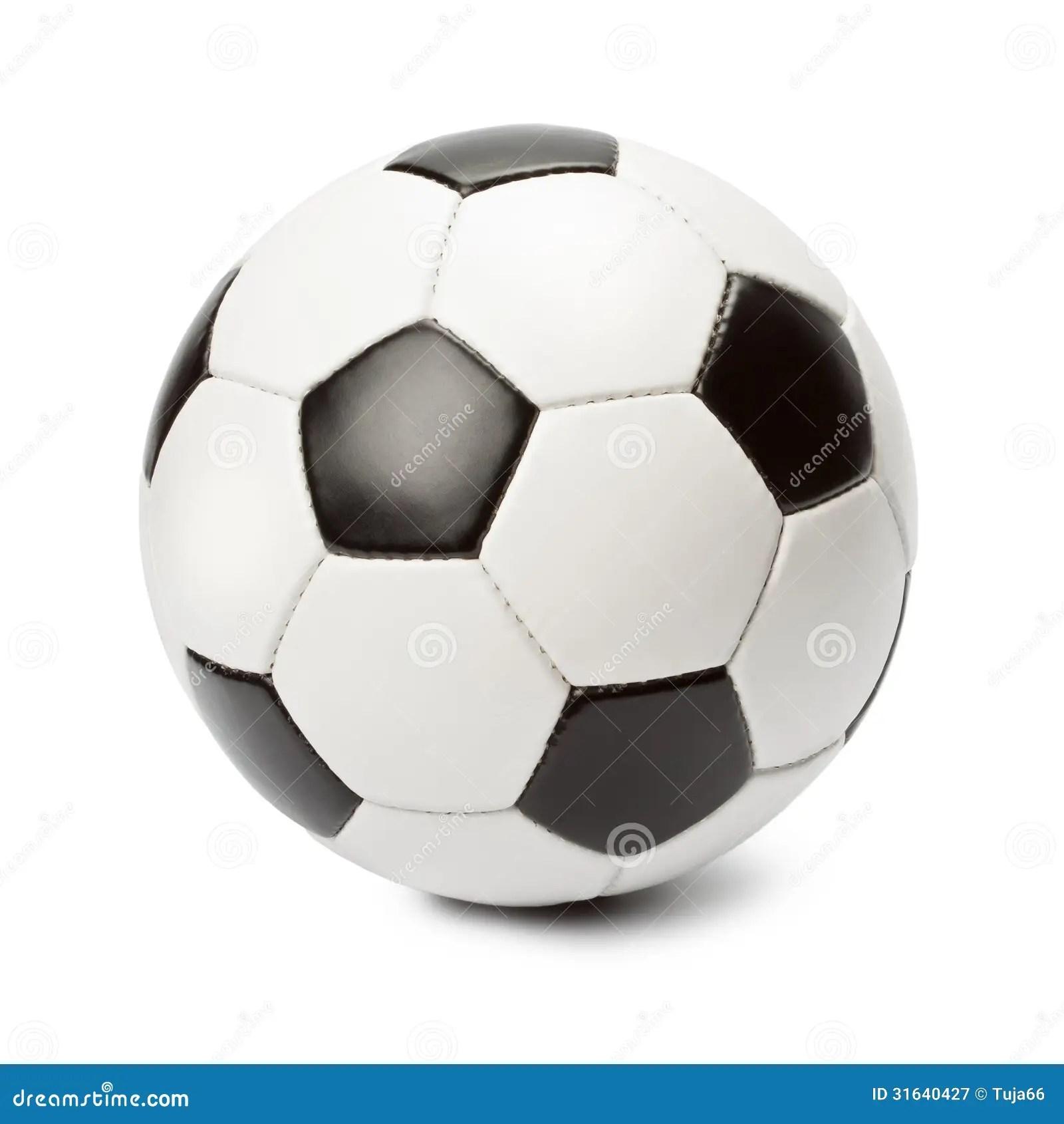 Ballon De Football Image Stock Image Du Isolement Normal