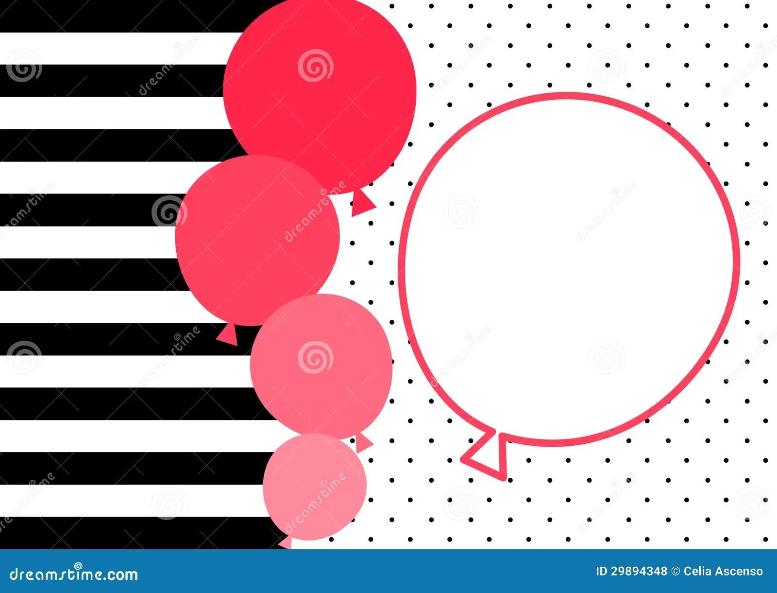 Polka Pink Balloons Dot