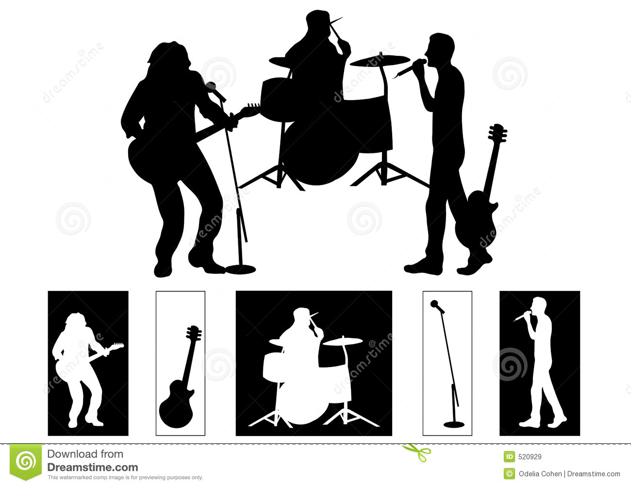 Band Royalty Free Stock Images