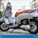 Bangkok Thailand April 03 2019 Brand New 2019 Honda Scoopy I Club 12 125cc Motor Scooter Editorial Image Image Of Design Rent 143841245