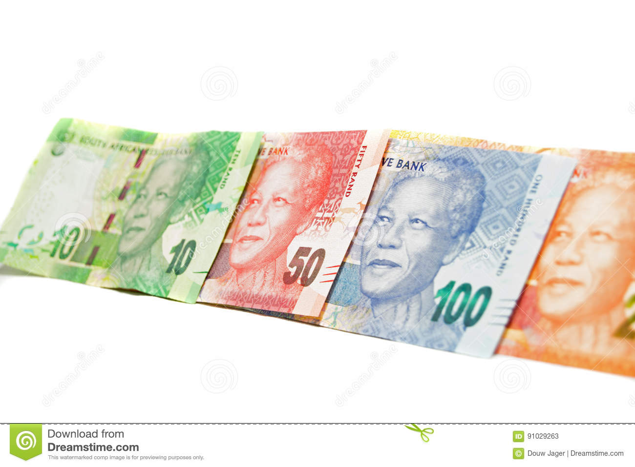Bank Notes Of South Africa Stock Image Image Of Africa