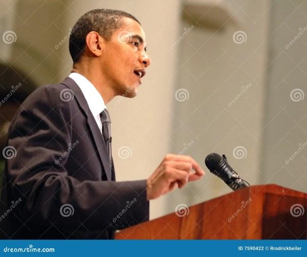Barack Obama Editorial Photography - Image: 7590422