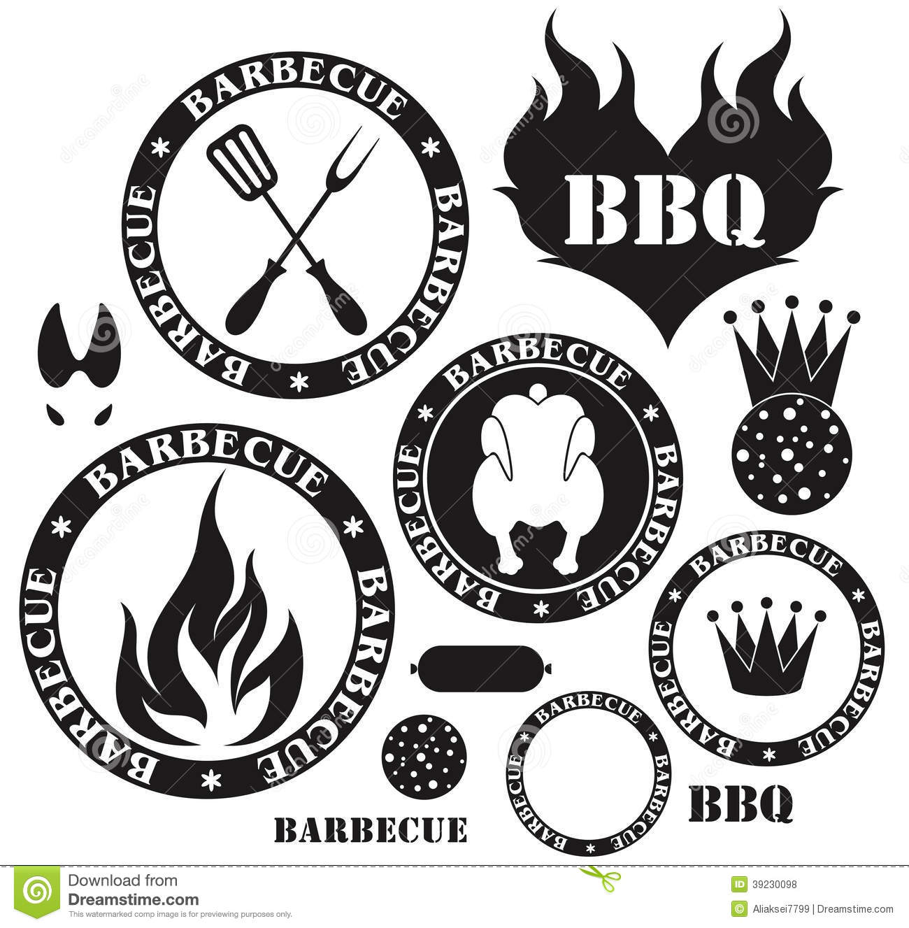 Barbecue Grill Stock Vector