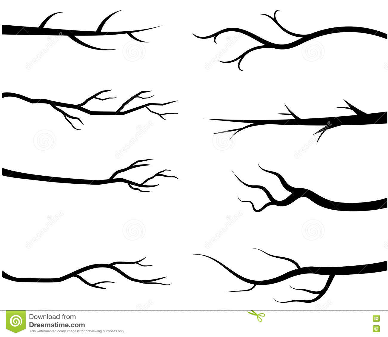 Tree Branches Diagram