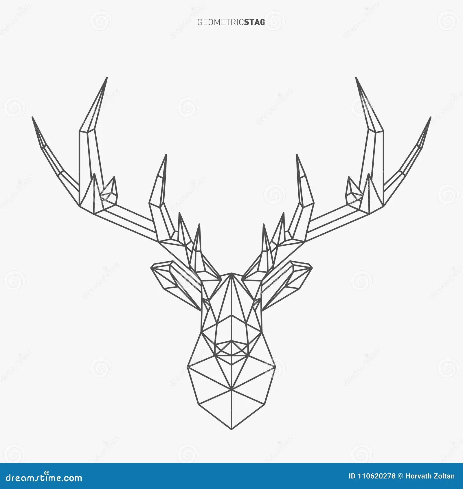 Bas Poly Male Geometrique Illustration De Vecteur Illustration Du Tete