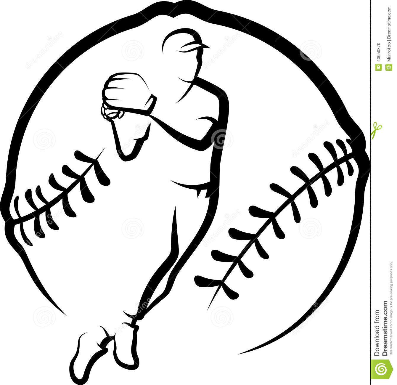 Clipart Of Baseball