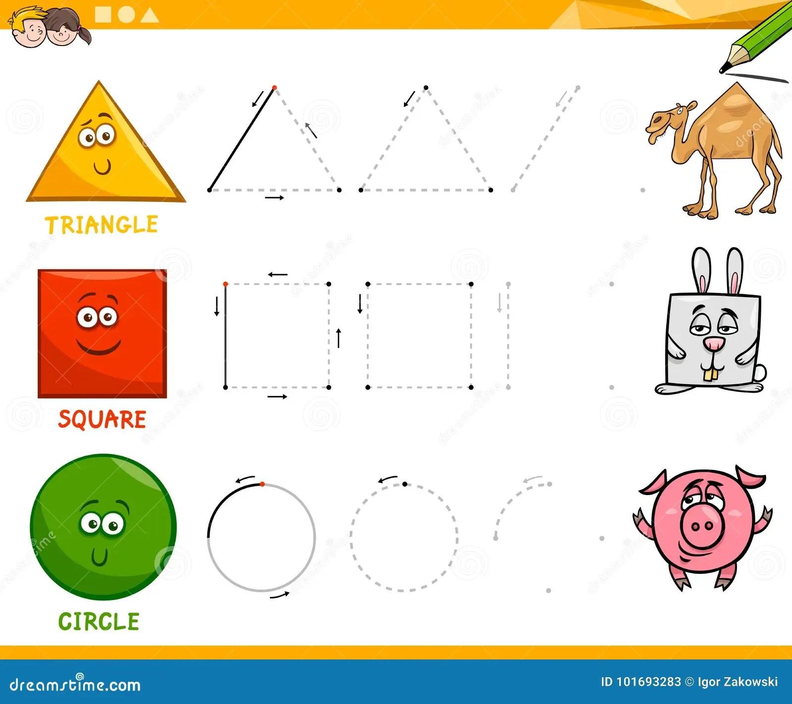 Geometry Kindergarten Worksheet