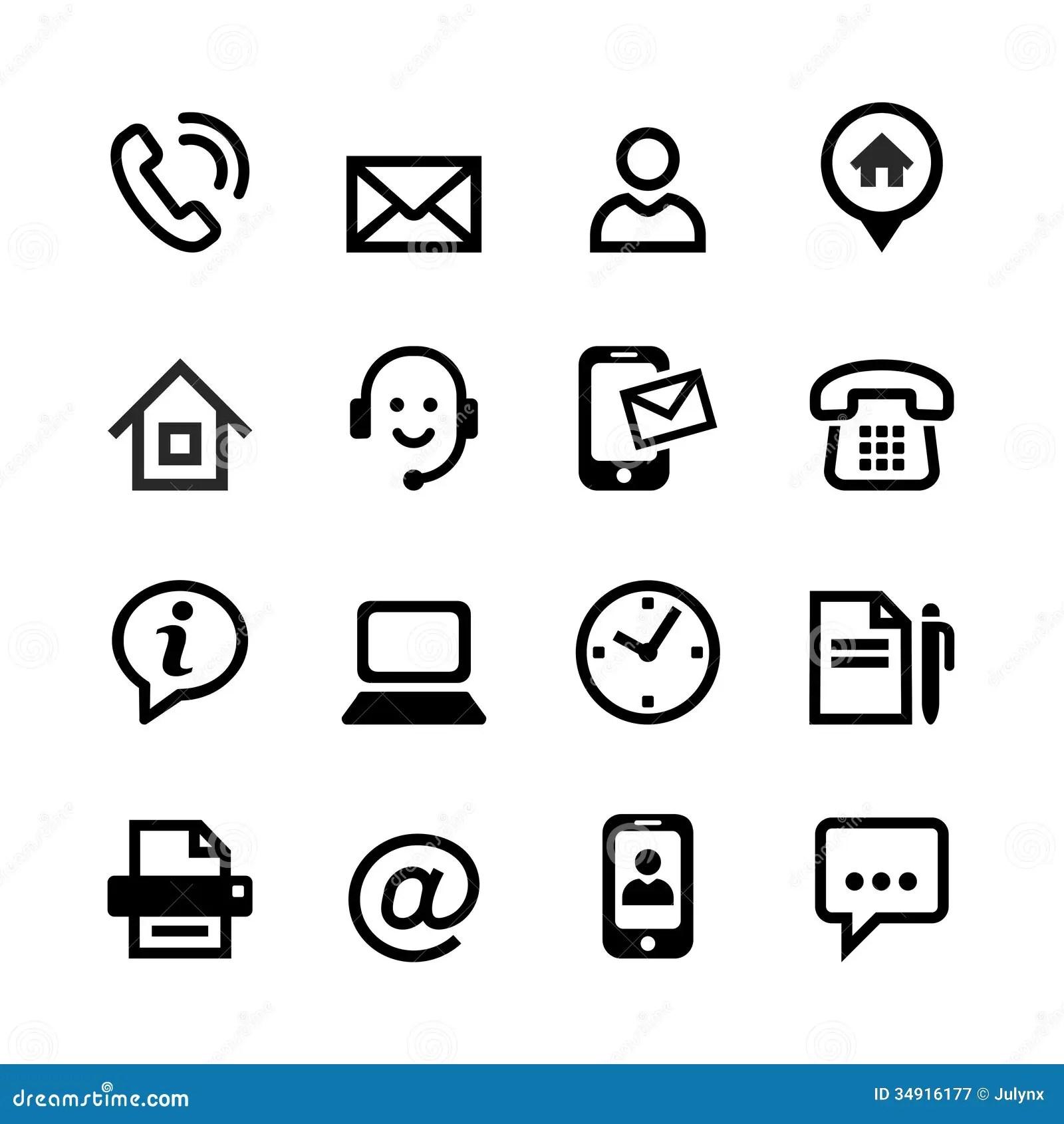 16 Basic Icons