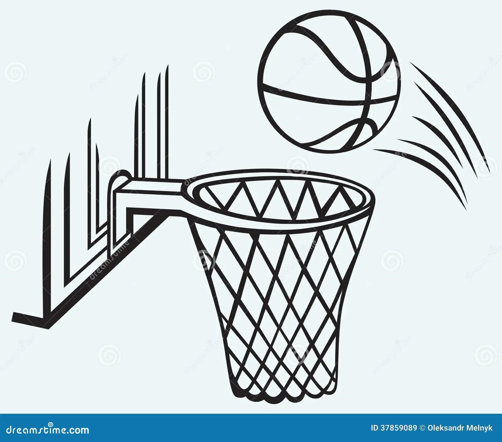 Basketball Board Stock Vector Illustration Of Black
