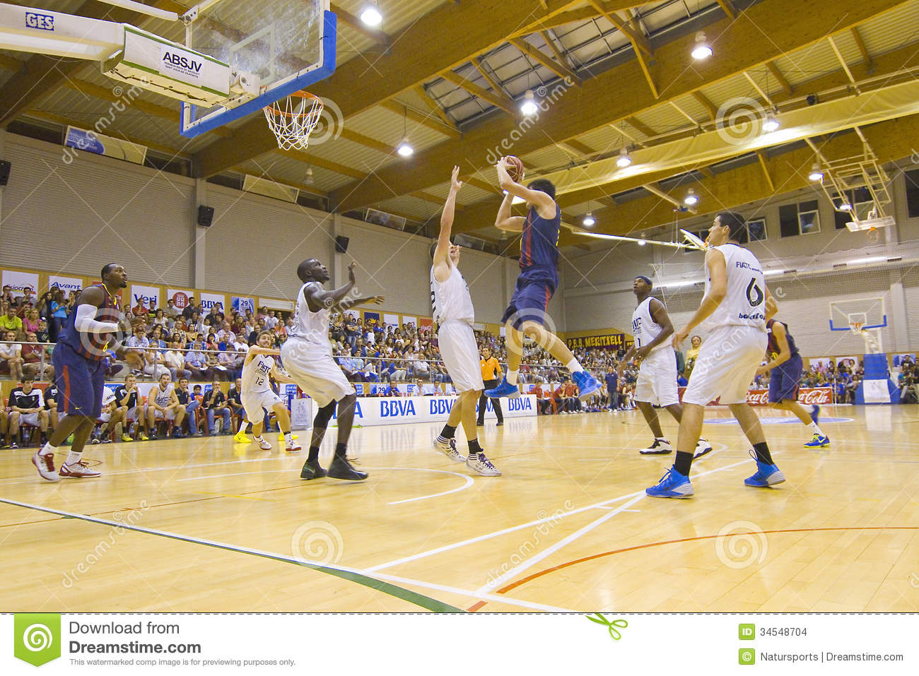 Basketball Match Editorial Stock Image Image Of Exercise